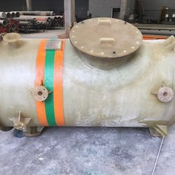 Tanque Vertical Fundo Plano e Tampa Plana em Fibra de Vidro - PRFV - 04