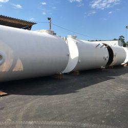 Tanque Vertical Fundo Plano e Tampa Plana em Fibra de Vidro - PRFV - 06