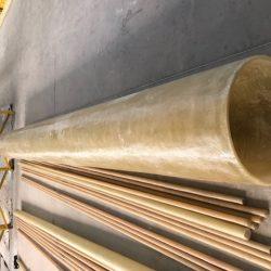 Tubo Dn. 12 PRFV - Fabricação Manual