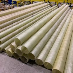 Tubos PRFV - Fabricação Filamento